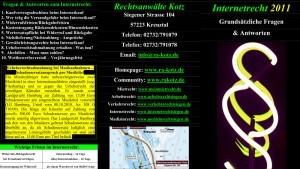 internetrecht2011